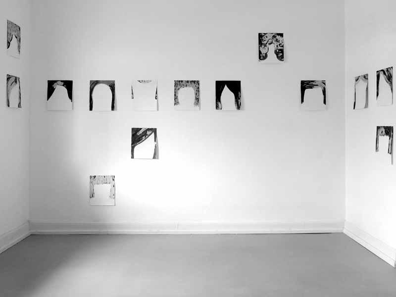 Atelieransicht sixteen 2018