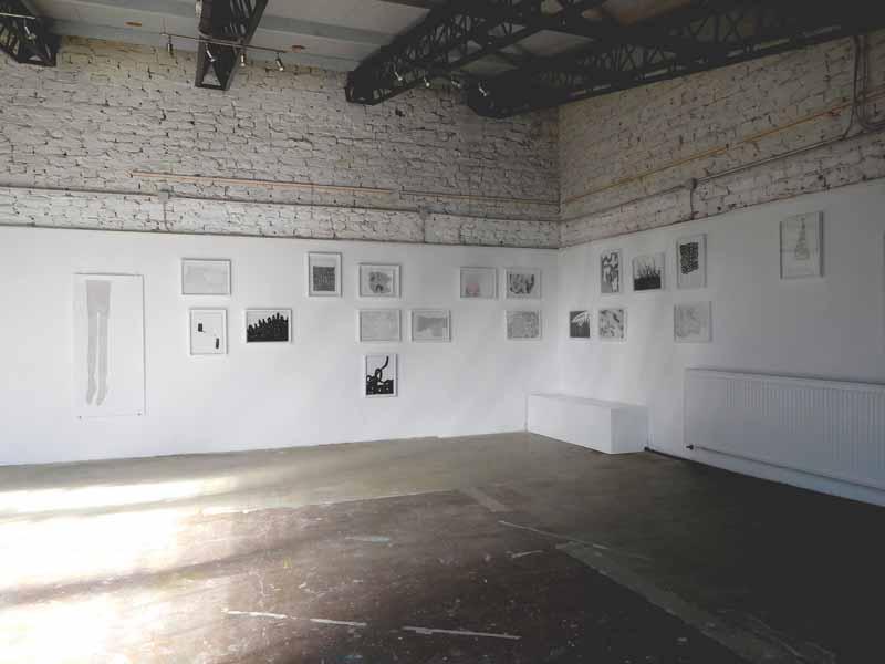 Ausstellungsansicht Fabrik45 | between 2018