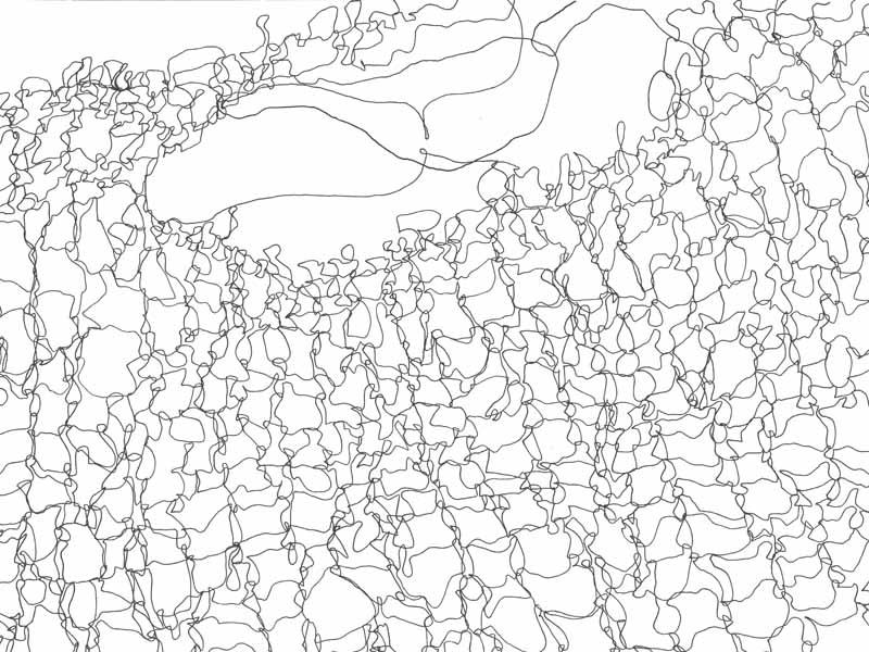 between_19 | 2018 | 30 x 40 cm | Fineliner auf Papier