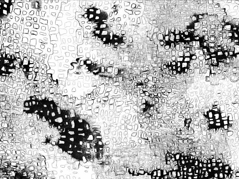 between_32 | 2018 | 30 x 40 cm | Tusche auf Papier