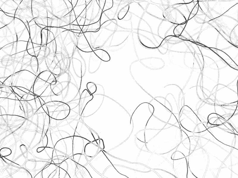 between_35 | 2018 | 30 x 40 cm | Tusche auf Papier