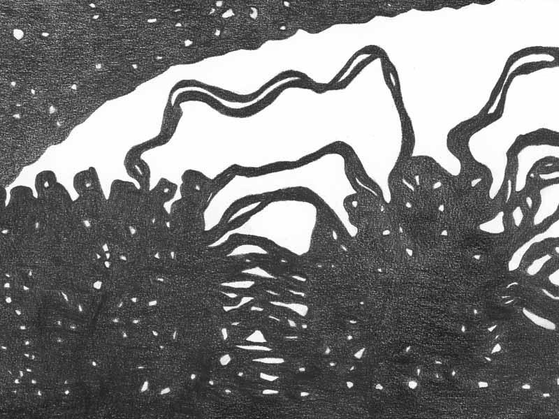 between_34 | 2018 | 30 x 40 cm | Bleistift auf Papier