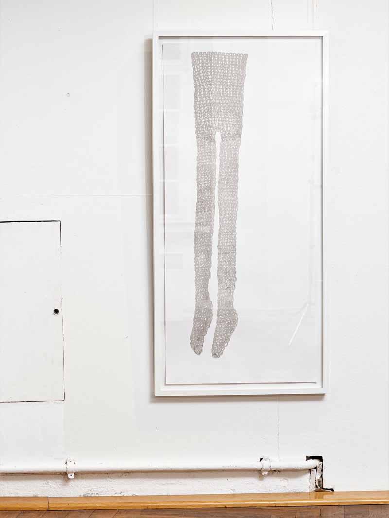Ausstellungsansicht | tights_02 | 2019 | Gärtnerhaus Bonn