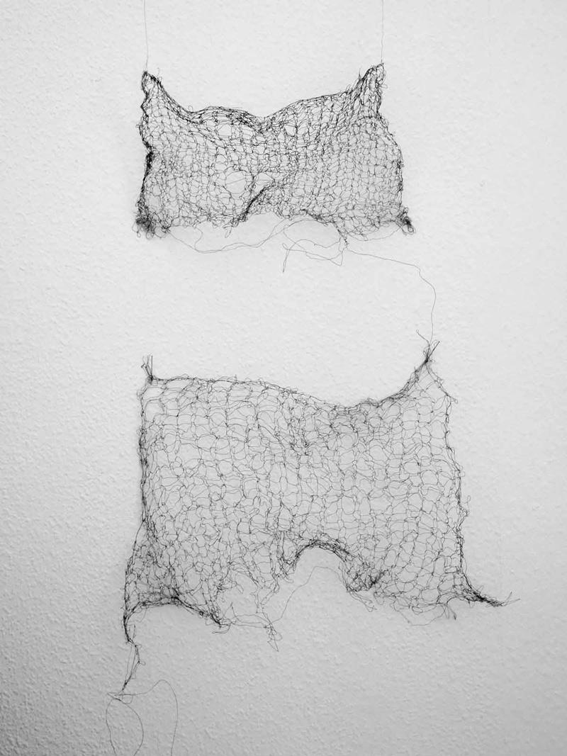drahtobjekt 2017 | 15 x 27 cm | 25 x 30 cm