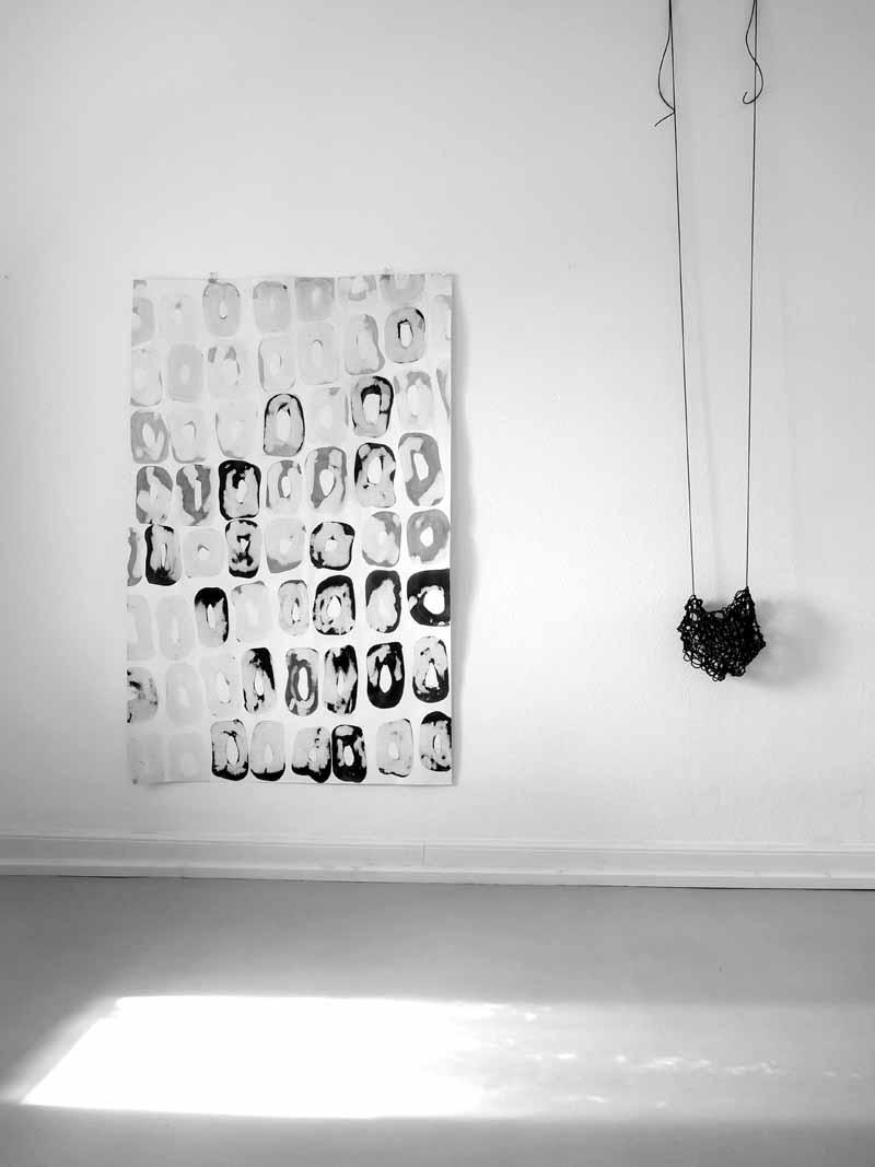 Atelieransicht Zeichnung loop_06 | swing 2019