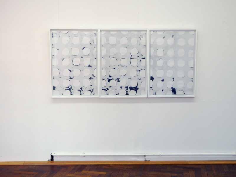 loop_(15-17) | 2019 | je 95 x 65 cm | Tusche auf Papier
