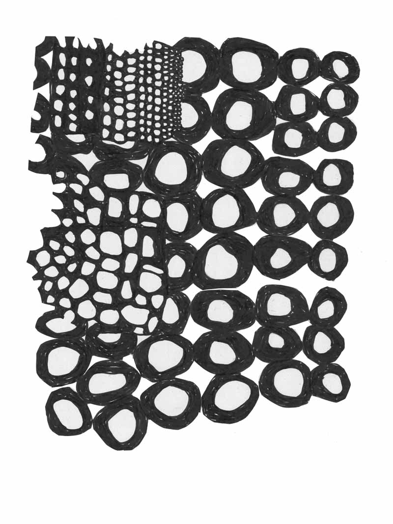 loop_21 | 2019 | 25 x 20 cm | Fineliner auf Papier