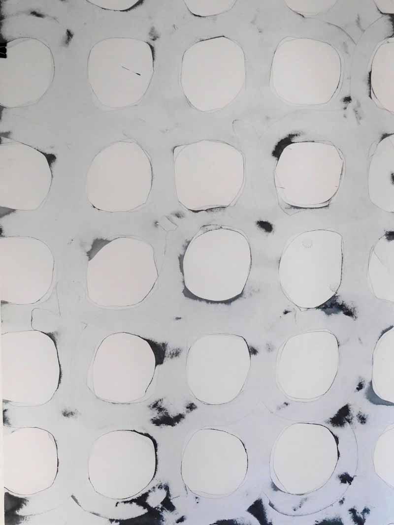 loop_16 | 2019 | 95 x 65 cm | Tusche auf Papier