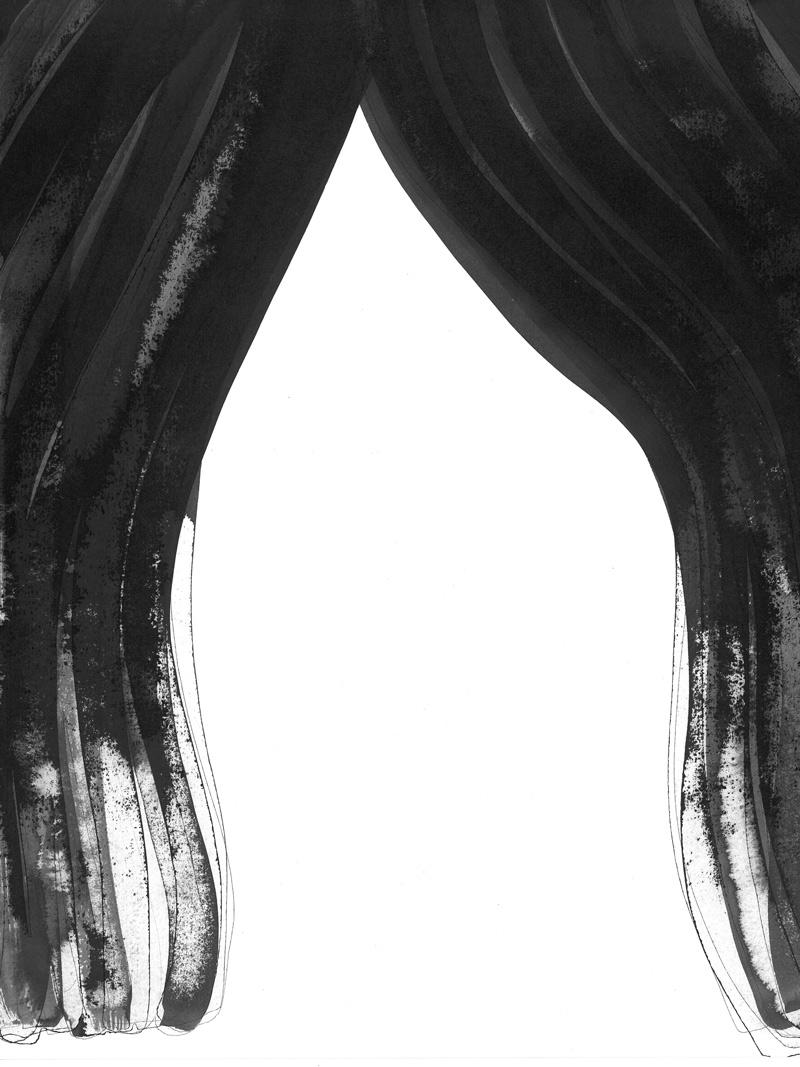 sixteen_08 | 2018 | 36 x 29,7 cm | Tusche auf Papier