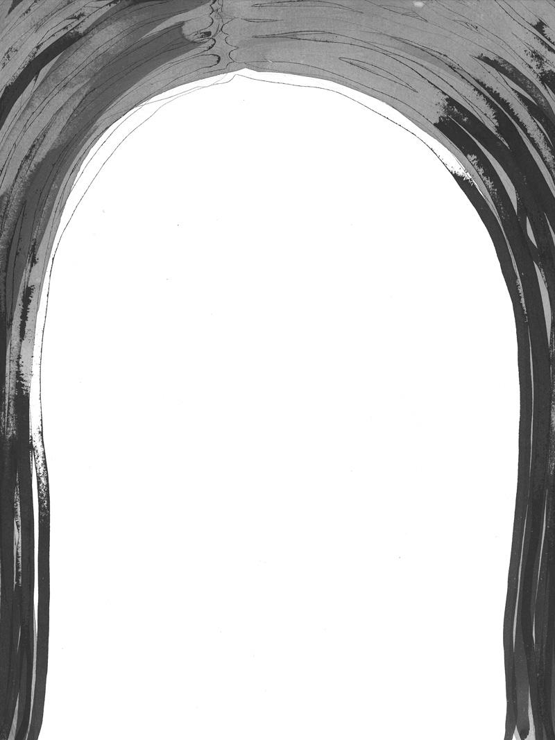 sixteen_03 | 2018 | 36 x 29,7 cm | Tusche auf Papier