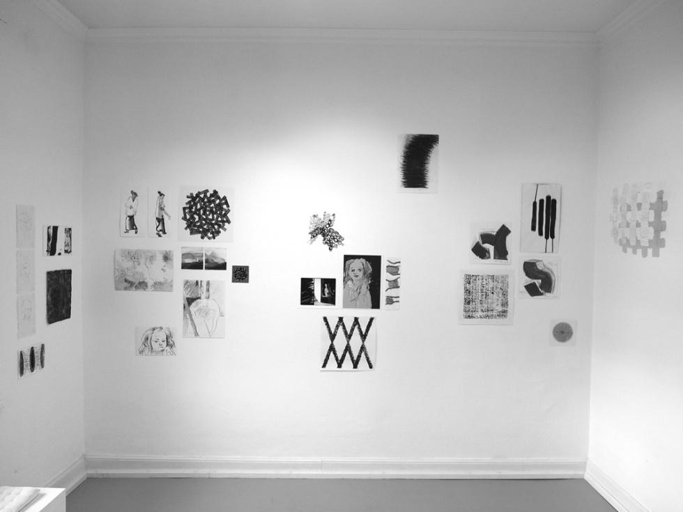 Ausstellungsansicht skizzen 2017 | Atelier Scheuermann Bonn