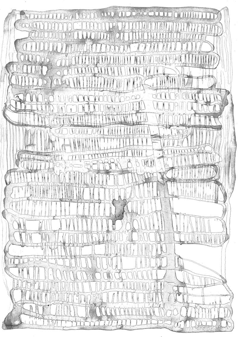 ohne Titel_13 | 2018 | 42 x 30 cm | Tusche auf Papier