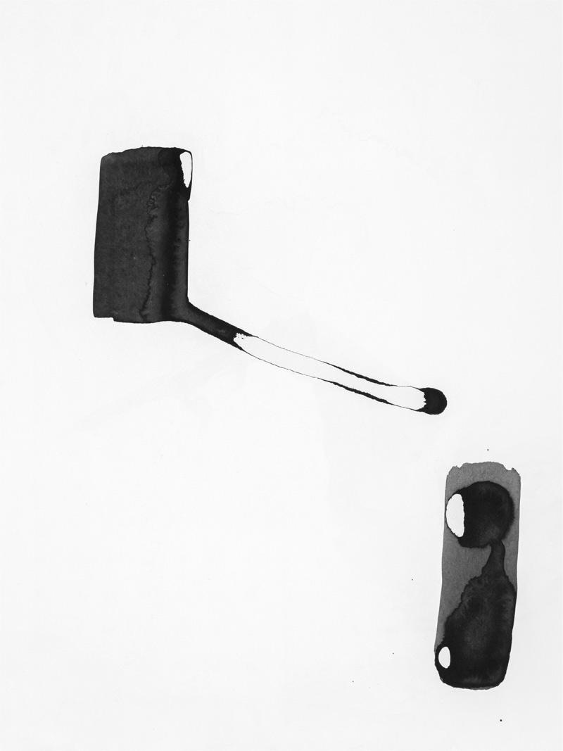 ohne Titel_05 | 2018 | 42 x 30 cm | Tusche auf Papier