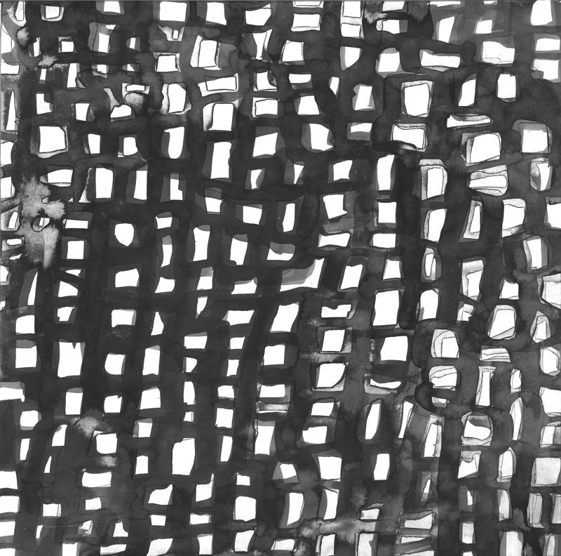 ohne Titel_11 | 2018 | 34 x 30 cm | Tusche auf Papier