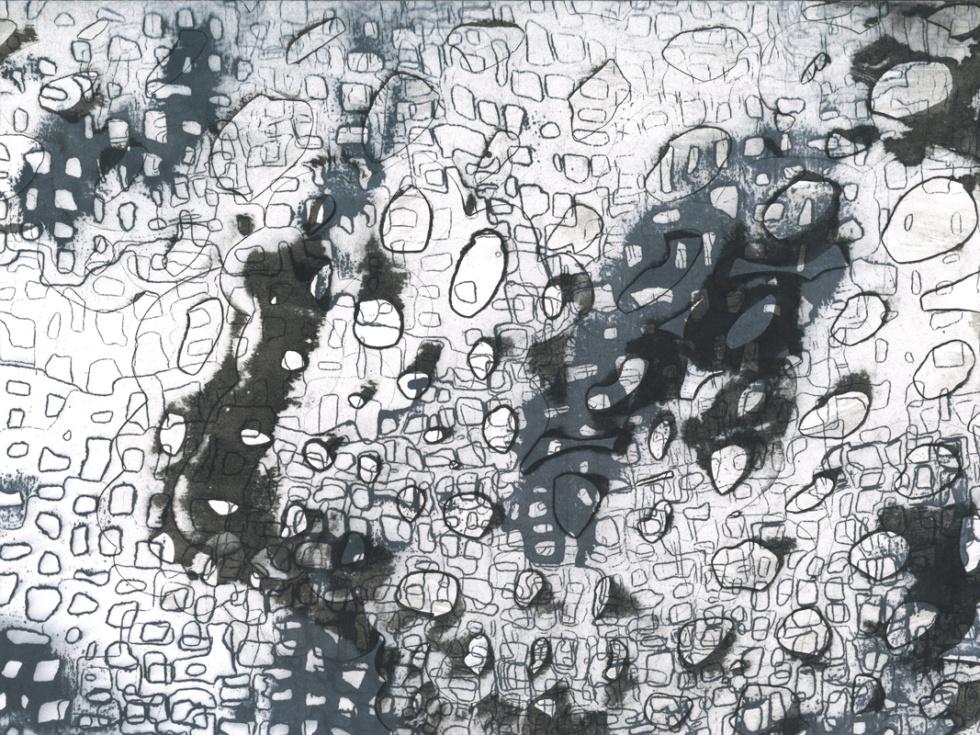 between_07 | 2018 | 40 x 30 cm | Tusche auf Papier