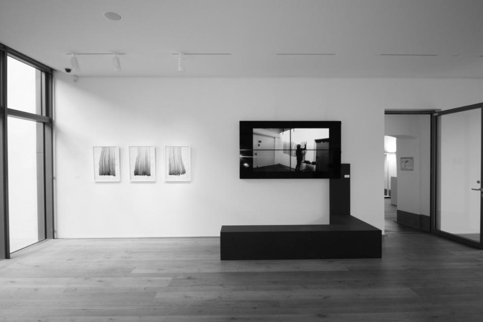 Doris Scheuermann time sheet Boppard Ausstellungsansicht