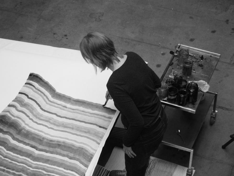 Doris Scheuermann Atelieransicht